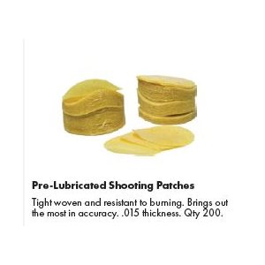 200 Slick Load™ Prelubed Shooting Patches .50-.58 caliber