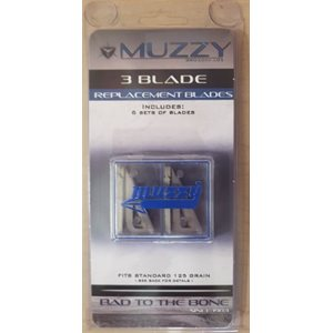 3-blade Replacement Blades for 235, 235-R Broadheads