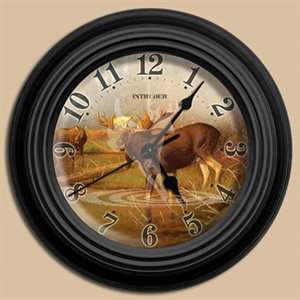 "10"" dia. Wall Clocks INTRUDER"