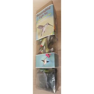 10 PC HUMMINGBIRD LIGHT SET