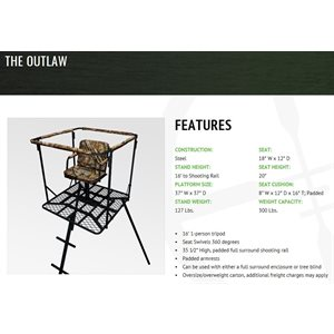 outlaw tree blind